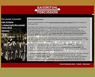 Homepage Kaiserstuhl Percussion